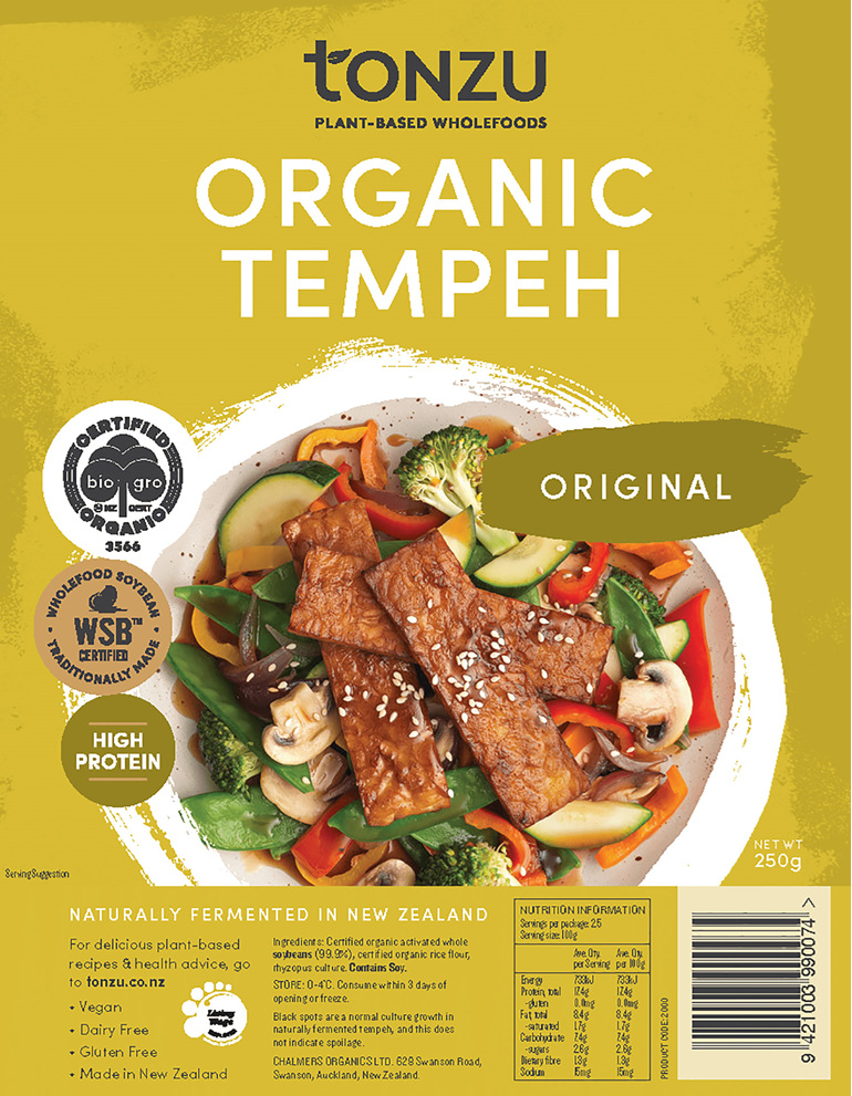 Tonzu Organic Tempeh