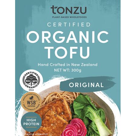Tonzu Organic Tofu 300g block