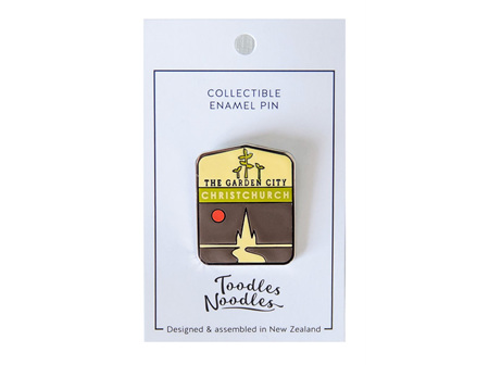 Toodle Noodles NZ Enamel Pin Assorted