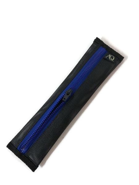 Toothpaste purse - blue zip