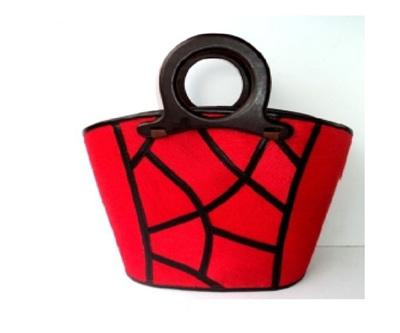 Top Design Red Handbag - Free Shipping
