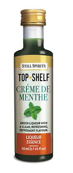 Top Shelf Creme de Menthe