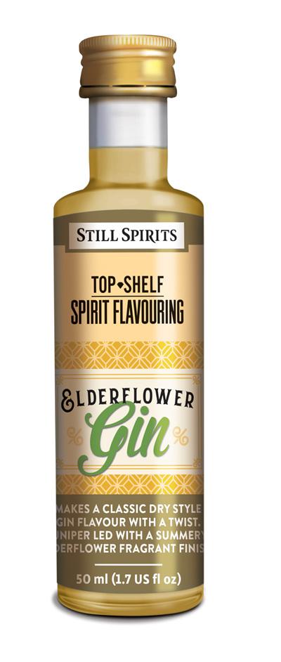 Top Shelf Elderflower Gin