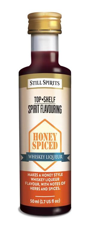 Top Shelf Honey Spiced Whiskey Liqueur