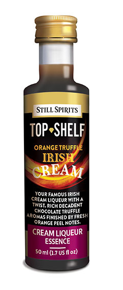 Top Shelf Irish Cream (Orange Truffle)