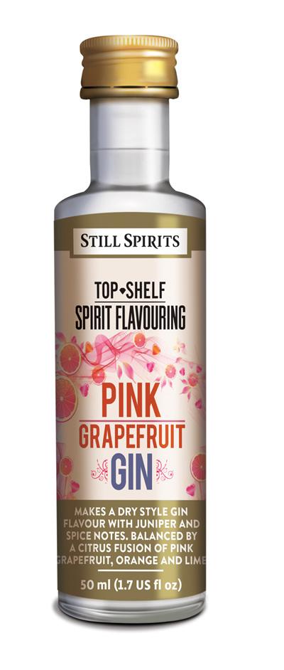 Top Shelf Pink Grapefruit Gin