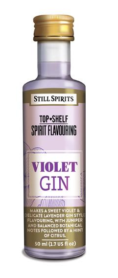 Top Shelf Violet Gin