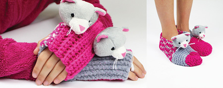 Top This!  Knitting Kit - Kitten