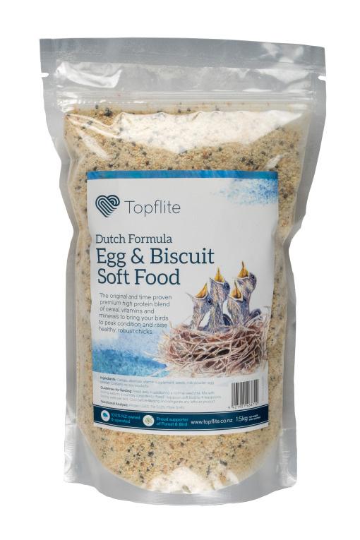 Topflite Dutch Formula - Egg & Biscuit Soft Food