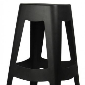Tori Bar Stool Black 68cm