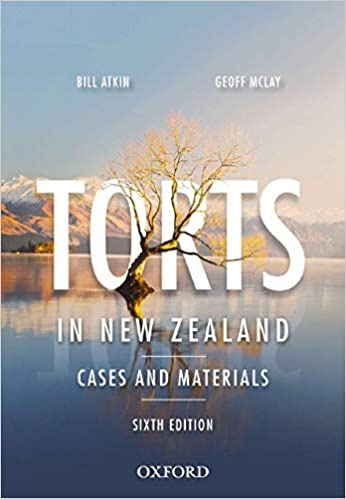 Torts in NZ: Cases and Materials 6ed