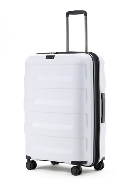 Tosca Comet Hard Case Luggage Size L White Sold Out