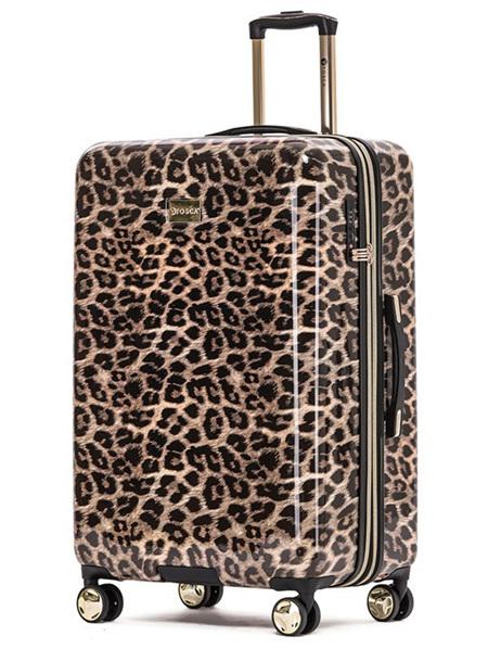 TOSCA Leopard Hard Case Luggage Size M