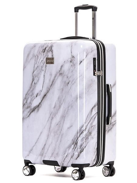 Tosca Marble Hard Case Luggage Size L