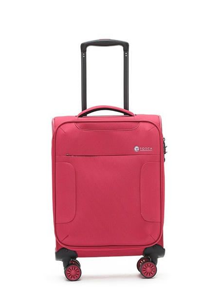 Tosca So Lite Fabric On Board Case Luggage Pink