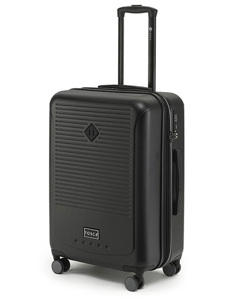 Tosca Tripster Hard Case Luggage Size L Blk