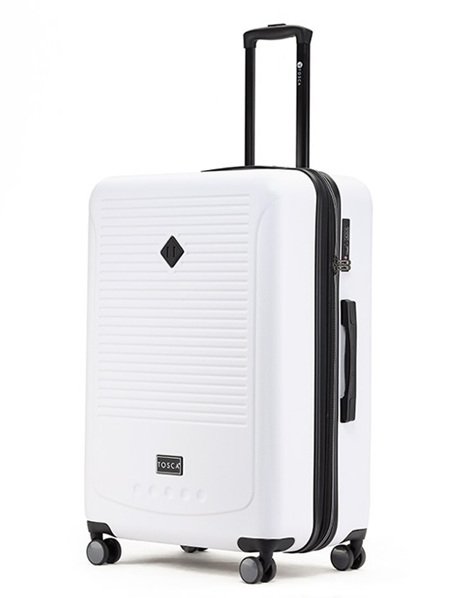 Tosca Tripster Hard Case Luggage Size L White