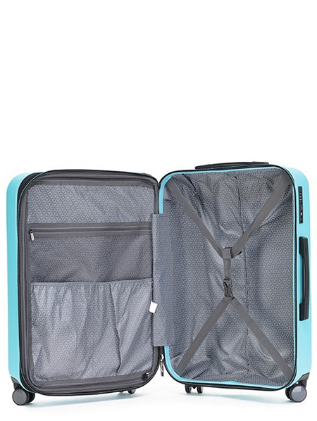 Tosca Tripster Hard Case Luggage Size M Blue