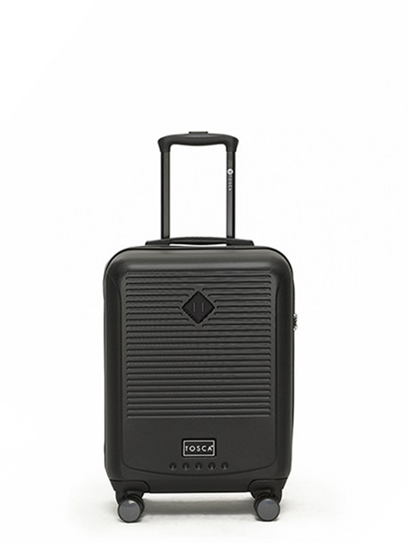 Tosca Tripster On Board Hard Case Luggage Blk
