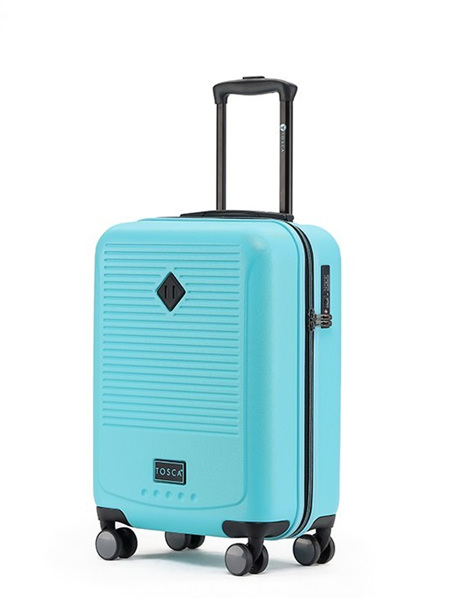 Tosca Tripster On Board Hard Case Luggage Blue