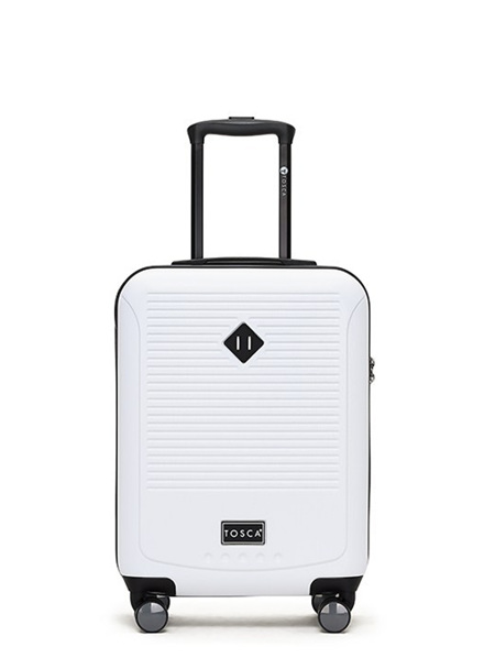 Tosca Tripster On Board Hard Case Luggage White