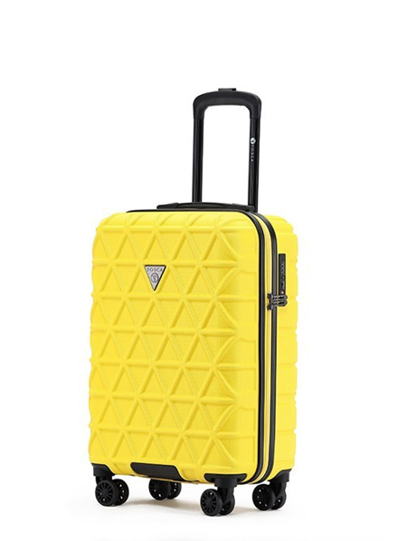 Tosca Trition Hard Case Luggage On Board Yellow Sold Out
