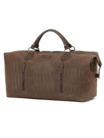 Tosca Waxed Canvas Duffel Brown WC001