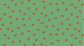 Tossed Hedgehogs Pine 1257