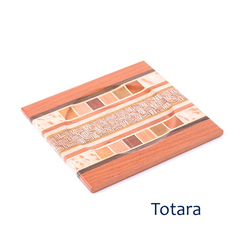Totara timber coaster