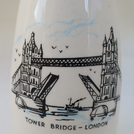 Tower Bridge vase