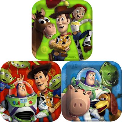 Toy Story Buzz Plates x 8
