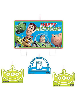 Toy Story Candle Set pack of 4