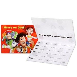 Toy Story - New Invites