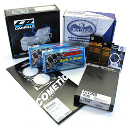 Toyota 2JZ Engine Rebuild Package - CP Pistons & Eagle Rods