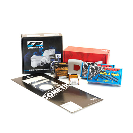 Toyota 4AGE 20V Engine Rebuild Package - CP Pistons & BC Rods 12.0:1 CR