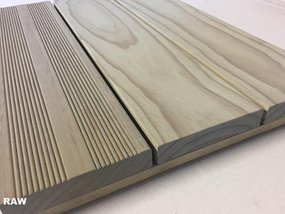 Earthen Radiata Kiln Dried  Decking 142x27mm
