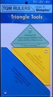 TQM Rulers Triangle Tools