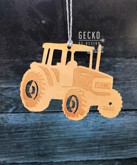 Tractor Christmas Decoration
