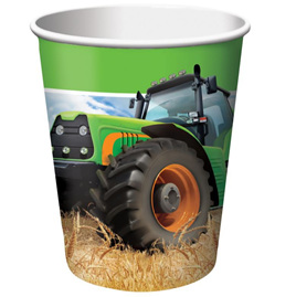 Tractor time cups x 8
