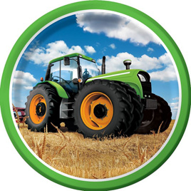 Tractor time plates x 8