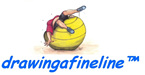 trademark logo for drawingafineline