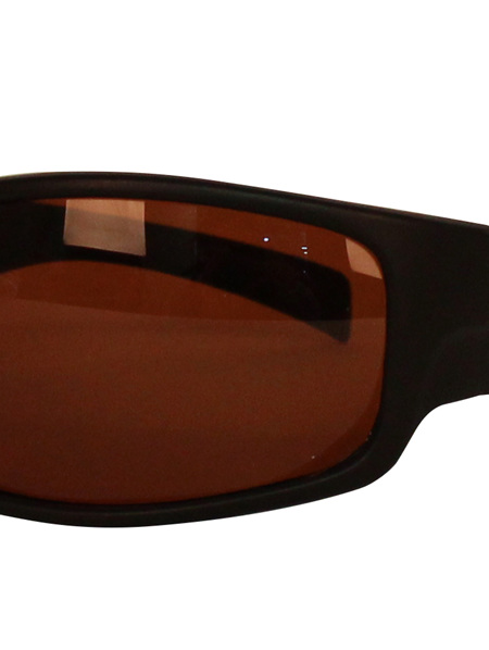 Tradies Blk with Brown Lens 611
