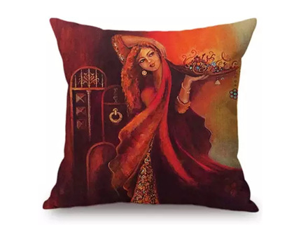 Traditional Art Pillowcase