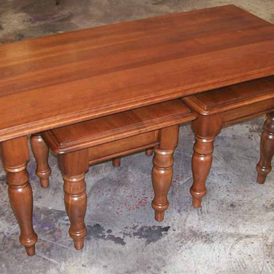 Country Lodge Nest of Coffee Tables