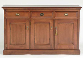 Country Lodge Sideboard - Three Drawer