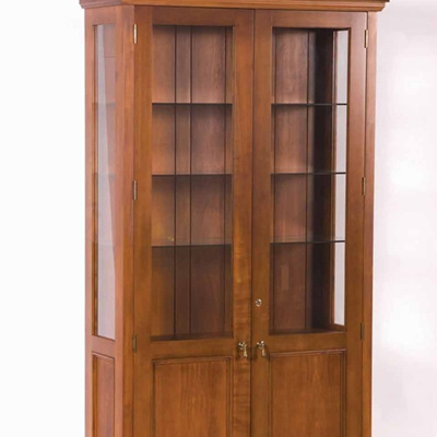 Country Lodge Display Cabinet