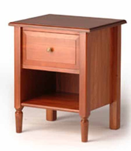Mulhouse Bedside Cabinet One Drawer