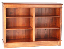 Mulhouse Long Bookcase