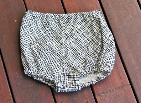 Traditional Style Bloomers, 'Thicket White' 100% Cotton, 0-3m