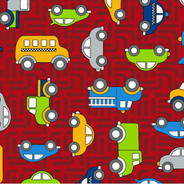 Traffic Jam - 3403-001  CARS-RED